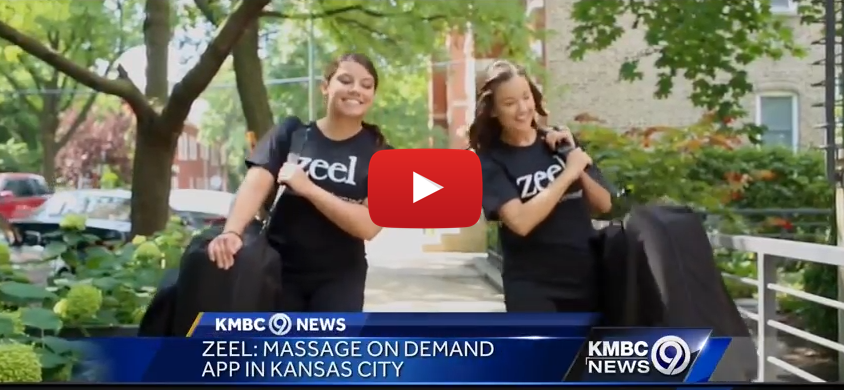 Zeel Massage Launches in Kansas City