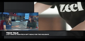 Zeel Massage On Demand in CBS, Tech Talk: Last Minute Holiday Gift Ideas