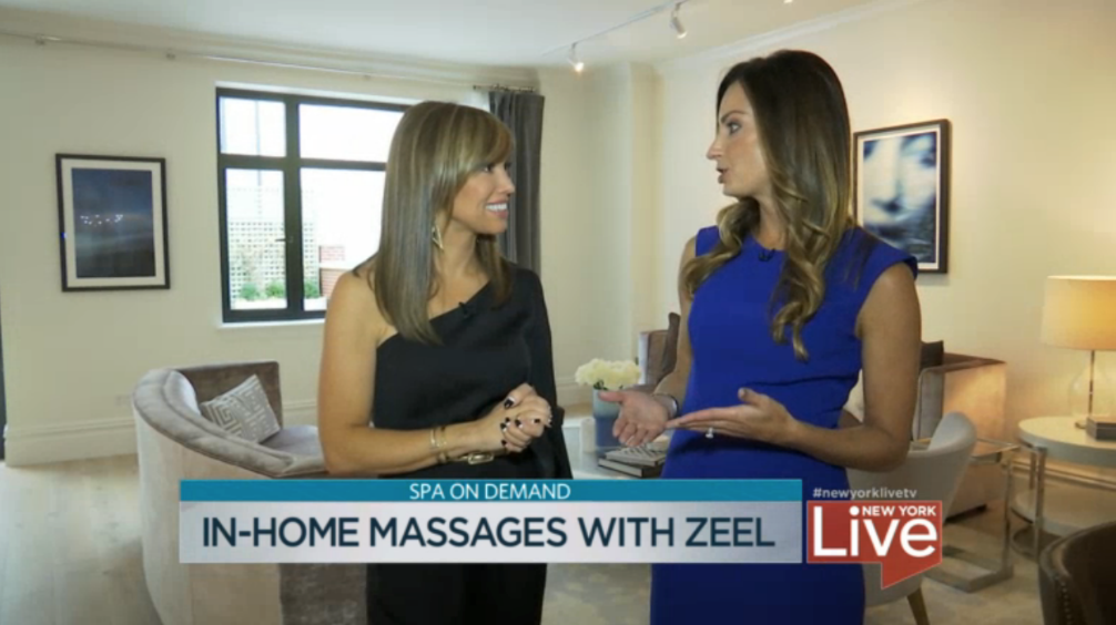 In-Home Massages with Zeel