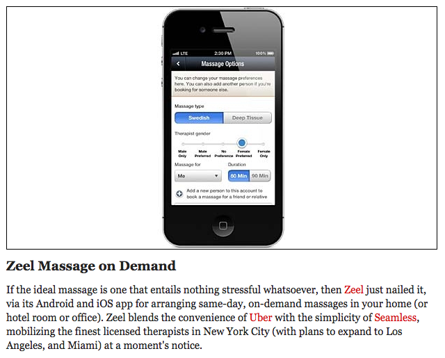 The On-Demand Massage App