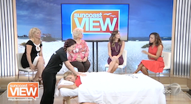 Zeel Massage On Demand in Suncoast View ABC 7 Sarasota, Zeel Massage On Demand® on WWSB ABC 7 Suncoast View