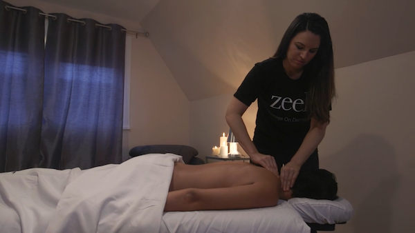 Zeel Massage Membership on NBC's Open House with Sara Gore