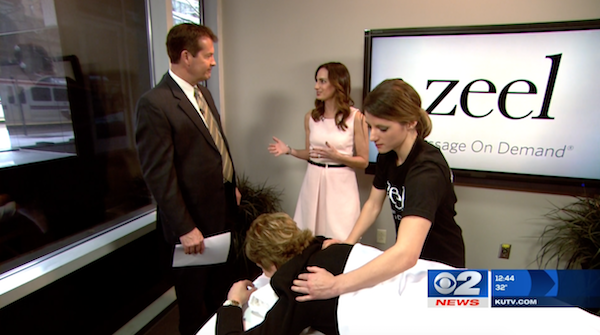 Zeel Massage on Demand arrives in Salt Lake City