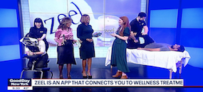 Zeel Visits Good Day New York for Employee Appreciation Day