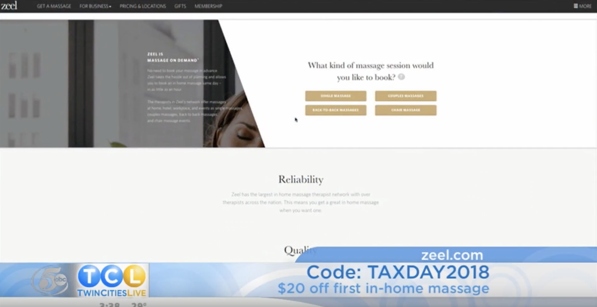 Zeel Talks Tax Day on Twin Cities Live