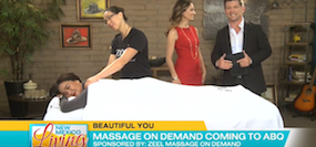 Zeel Massage Live on New Mexico Living | KRQE News 13