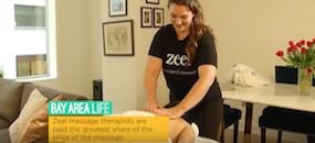 Zeel Massage On Demand in Bay Area Life, Zeel Massage in San Francisco | Bay Area LIFE