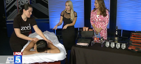 Zeel Massage On Demand in Fox 5 San Diego, Valentine