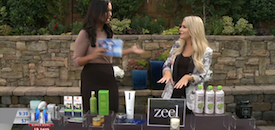 Zeel Massage On Demand in Fox 5 San Diego, Beauty Detox Resolutions
