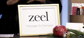 Zeel Massage On Demand in CBS Pittsburgh, Food Mood Girl's Local Holiday Gift Ideas