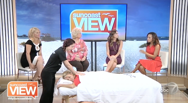 Zeel Massage On Demand® on WWSB ABC 7 Suncoast View