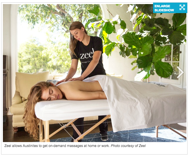 New luxury service pampers busy Austinites with on-demand massage