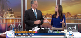 Zeel Massage On Demand in WPTV, Steals and Deals with Christina Nicholson