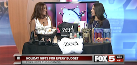 Zeel Massage On Demand in Fox 5 Vegas, Zeel Massage on Fox 5 Vegas with Ali Levine