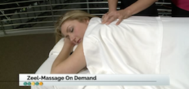 Zeel Massage On Demand in The Everyday Show, Zeel Massage On Demand
