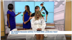Zeel Massage On Demand in WJLA Good Morning Washington, Zeel: On-demand massage service to your home