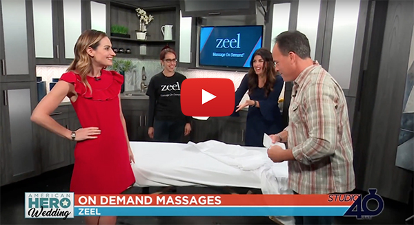 Zeel Massage Launches in Sacramento