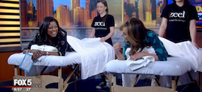 Zeel Massage On Demand in Good Day New York, Zeel