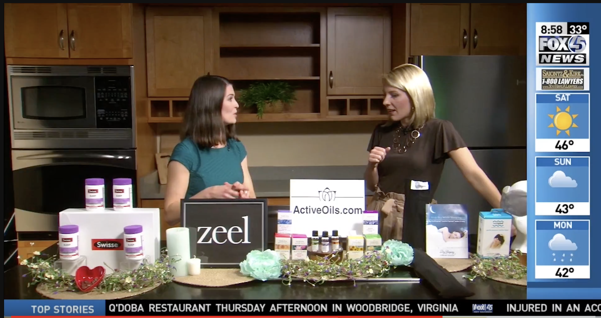 Sleep Week with Zeel on FOX45