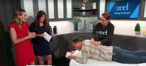 Zeel Massage On Demand in Fox Studio40 Live, Zeel Massage Launches in Sacramento