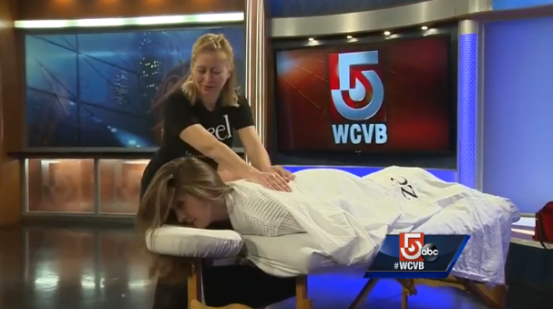 Zeel Massage On Demand in WCBV ABC 5 Boston, Life in Boston just got easier with these new apps