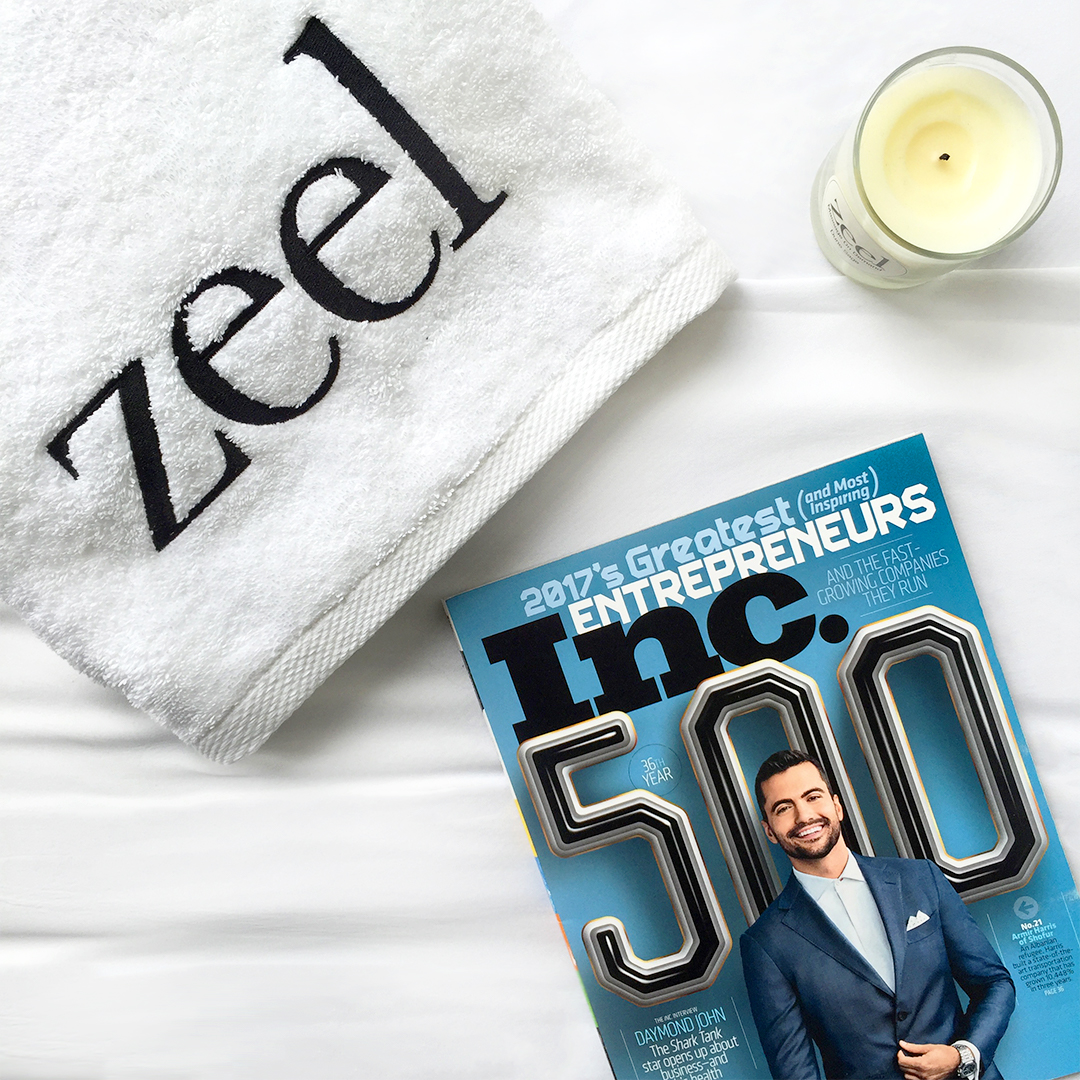 Inc. Magazine Names Zeel One Of America's Fastest-Growing Companies