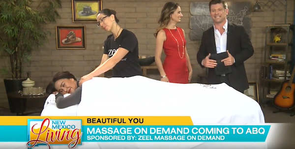Zeel Massage Live on New Mexico Living | KRQE News 13 - New