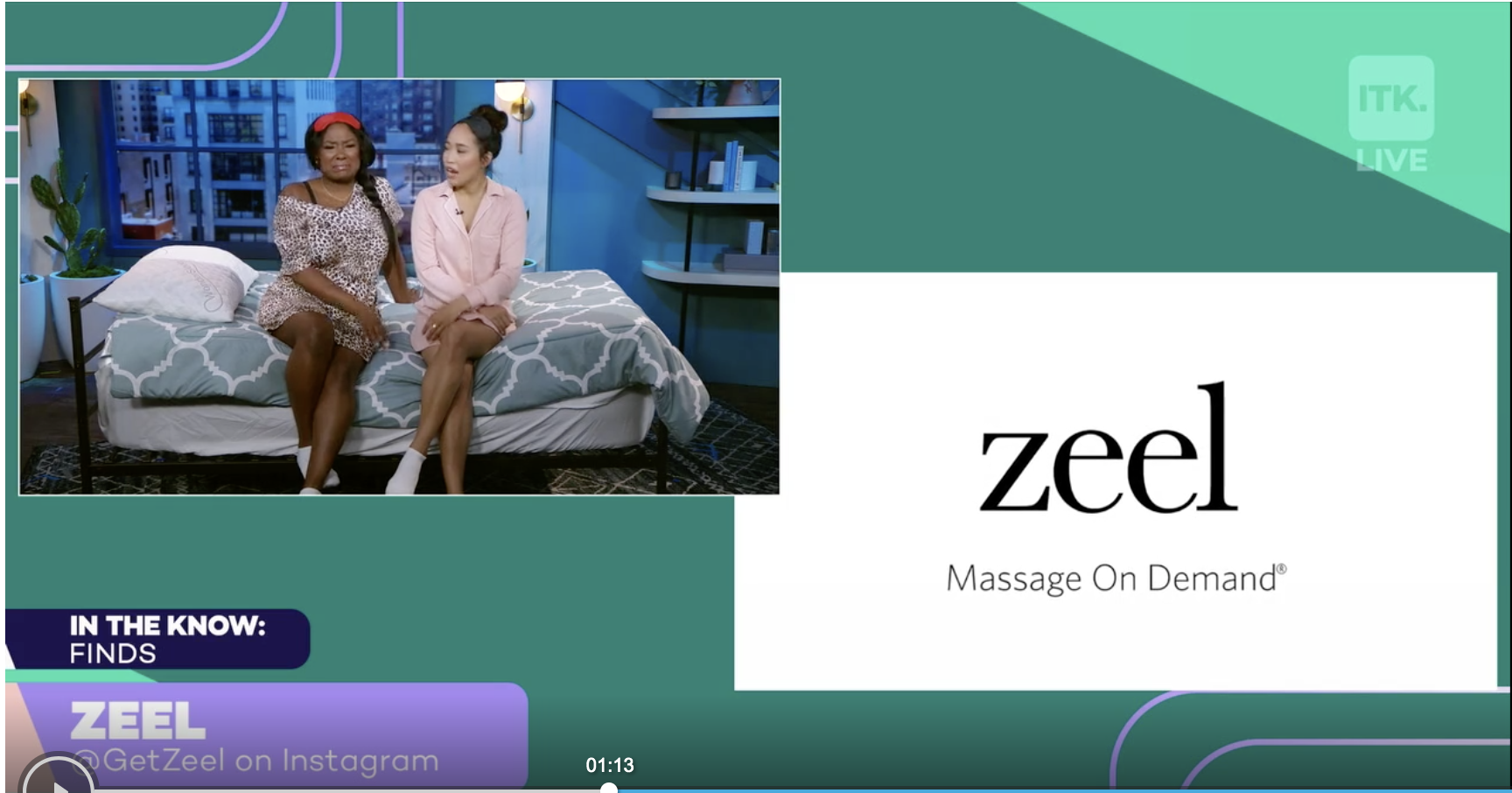 Book an in-home massage from the comfort of your couch with Zeel