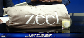 Zeel Chat With FOX5 DC During Sleep Week