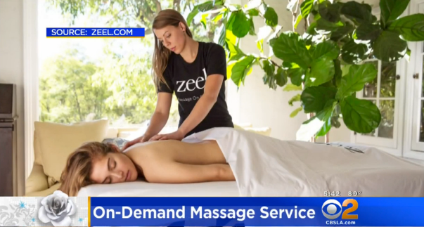 Zeel Massage On Demand in CBS LA, The Fab Mom On 2: 3 Quick Tips for Avoiding Mom Burnout
