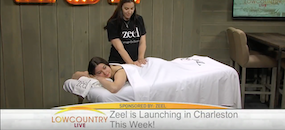 Zeel Massage On Demand in ABC 4 Lowcountry News, Zeel Massage Launches in Charleston