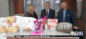 Zeel Massage On Demand in WGN 9 Chicago, Some Awesome Valentines Gift Ideas!
