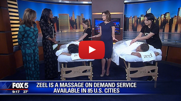 Zeel's Sleep Massage On Demand