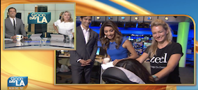 Zeel Massage On Demand in Good Day LA, Zeel Visits KTTV Good Day LA On National Relaxation Day