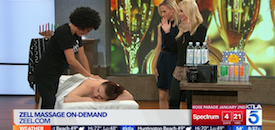 Zeel Massage On Demand in KTLA, 8 Post-Holiday Essentials and Cures