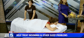 Get Your Best Night's Rest with Sleep Massage | Zeel Massage on Fox 5 San Diego