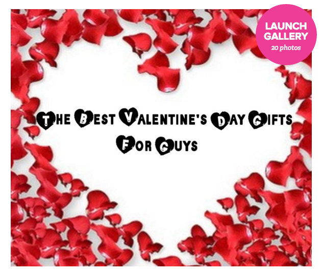 The Ultimate Valentine's Gift Guide... For Guys!