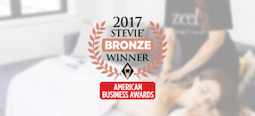 Zeel Awarded Bronze Stevie Award® For Customer Service Department Of The Year
