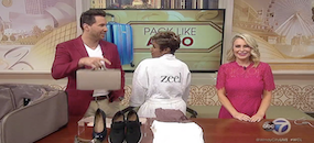 Zeel Massage On Demand in Windy City Live, Pack Like a Pro with the Go-To Girlfriend Sadie Murray