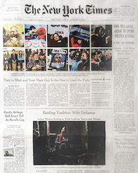 Zeel Massage On Demand in The New York Times, A Massage, Please, and Make It Snappy