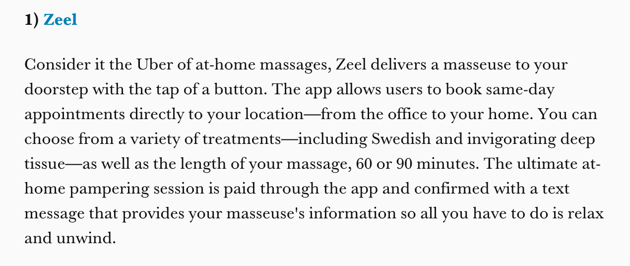 6 Apps to Pamper Yourself With